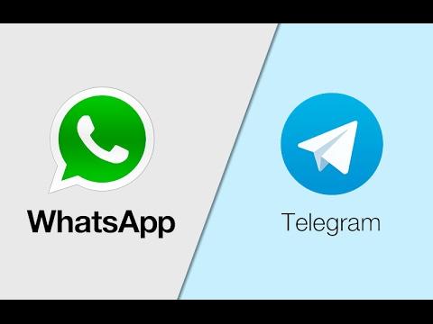 Whatsapp VS Telegram - Comparacion y diferencias 2017