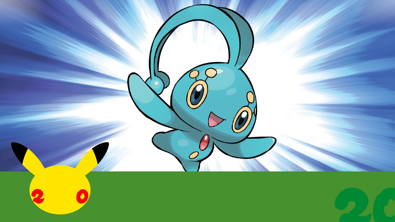 Pokemon Mew and Manaphy event: How to download 'mythical