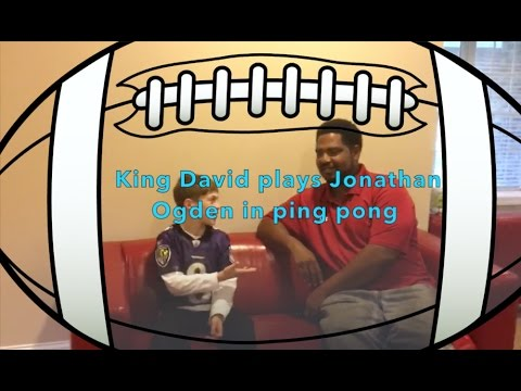 I played Jonathan Ogden in Ping Pong