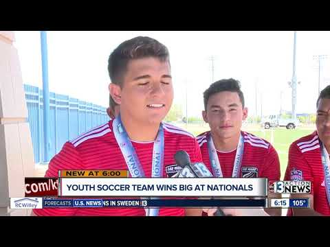 Youth Soccer Team Wins Back To Back National Championships