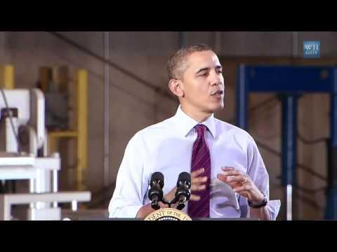 Obama Sells His Plan In Cedar Rapids, Iowa