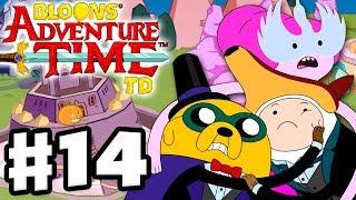 Bloons Adventure Time TD - Gameplay Walkthrough Part 14 - HALL-OOO-WEEN!