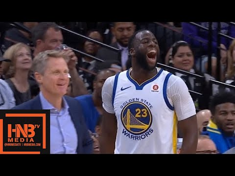 Golden State Warriors vs San Antonio Spurs 1st Half Highlights / Game 4 / 2018 NBA Playoffs