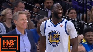 Golden State Warriors vs San Antonio Spurs 1st Half Highlights / Game 4 / 2018 NBA Playoffs