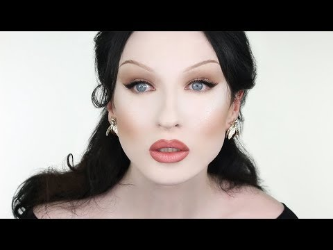 Simple Brown Cat Eye Makeup Tutorial