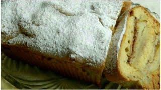Пирог медовый с яблоками. Без сахара.