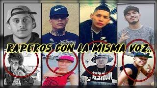 Raperos con la misma voz   Canserbero   YUSAK   Adan zapata & mas   MUSICRAPHOOD thumbnail