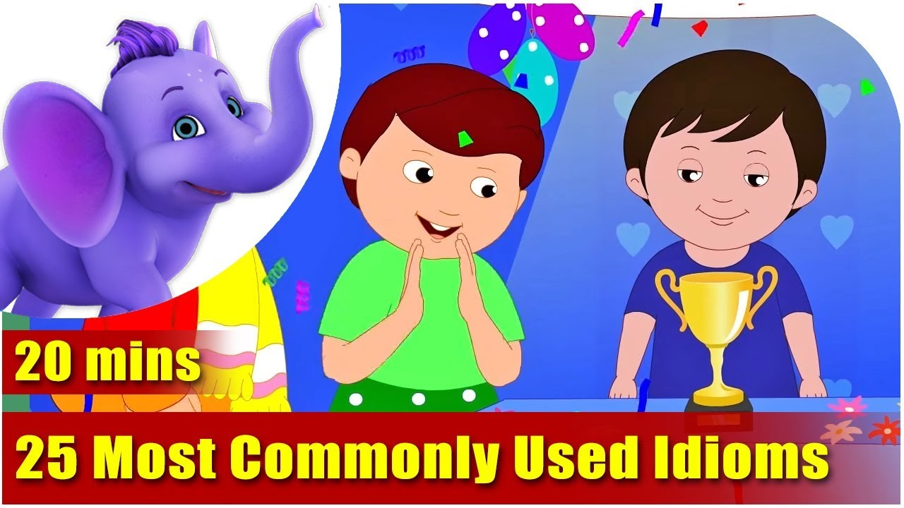 25 Most Commonly Used Idioms And Their Meaning Youtube