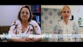 Dra. Ione Nassif (Angiologista) e Dra. Melissa Nassif Cortez (Cardiologista)