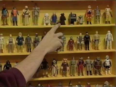 Lad shows off his Star Wars figures on Antiques Roadshow 1996