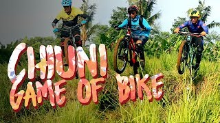 Game of Bike: Rock Garden and Drop Off Cihuni Hill Bike Park #MantabJiwa