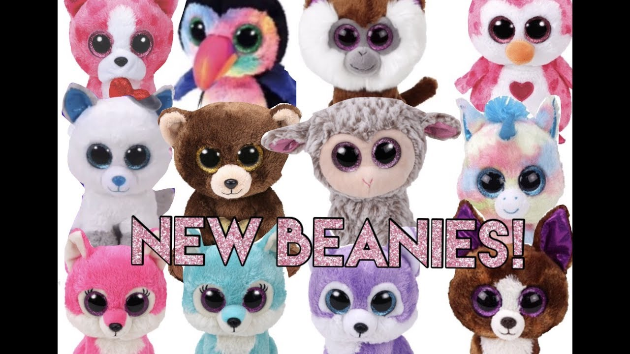 New Beanie Boos For 2017-2018! - YouTube 58ef2477388