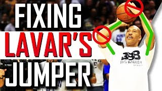 Fixing Lavar Ball's Jump Shot?!?! Shooting Form Breakdown