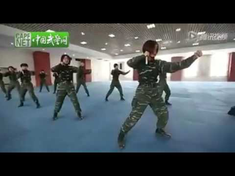 Chinese Military Women Knife Training Youtube