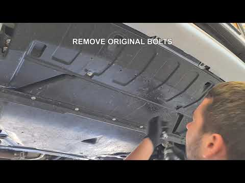 ASFIR 4X4 – HOW TO INSTALL – Mitsubishi – Outlander (13-21) Front skid plate – 598149