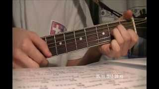 Horodinca Matei- Florile dalbe( Tutorial chitara)