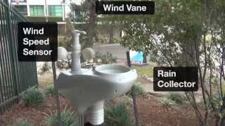 Professional Wireless Weather Station with 7