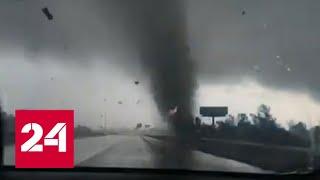 По Техасу пронесся разрушительный смерч - Россия 24 