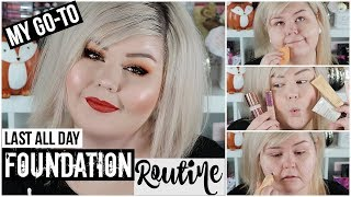 My Go To Foundation + Primer Routine | All Day Wear