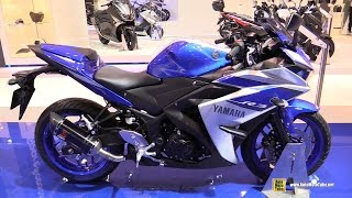 2015 Yamaha YZF-R3 - Walkaround - 2014 EICMA Milan Motorcycle Exhibition