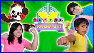 ROBLOX VTUBER TOURNAMENT CHALLENGE !! Roblox Obbys, Floor is Lava, & Speeding Wall