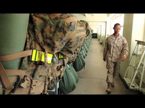 Marine Corps Recruit Depot sound slide
