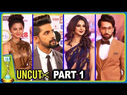 ITA Awards 2017 Full Show | Red Carpet | UNCUT Part 1 | Jennifer Winget, Nakuul Mehta, Helly Shah
