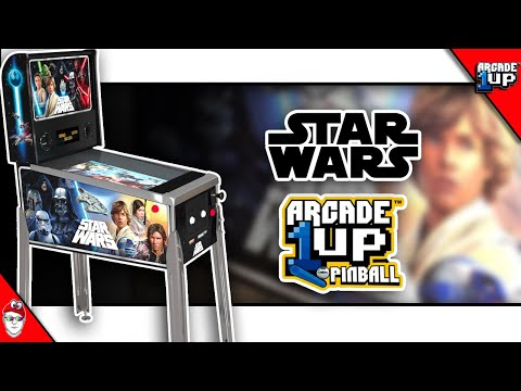 Arcade1up - Star Wars pinball Initial Impressions / Q&A from Console Kits