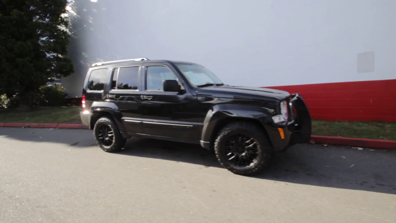 2011 jeep liberty limited brilliant black crystal pearl coat bw556975 redmond seattle