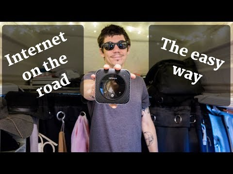 Best Cheap Internet on The Road: Portable Wifi Hot Spot. Unlimited internet in your van!