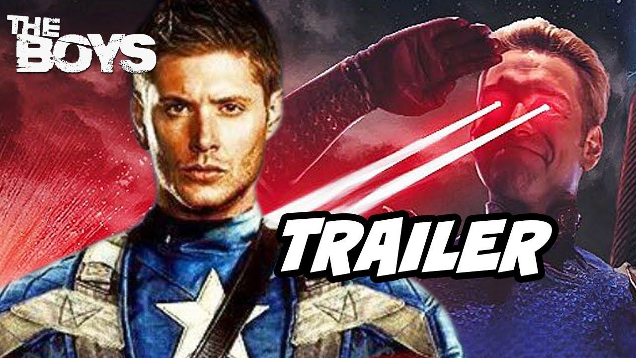 Download The Boys Season 3 Teaser Trailer Jensen Ackles Breakdown - Marvel Avengers Movies Easter Eggs
