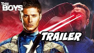 The Boys Season 3 Teaser Trailer Jensen Ackles Breakdown - Marvel Avengers Movies Easter Eggs