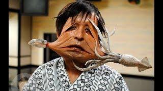脑洞大开的日本片,寿司突然变异获得生命开始吞食人类,简直太恐怖了!