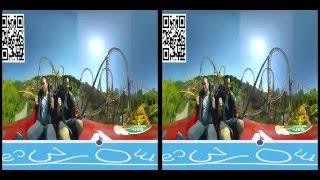 giroptic roller coaster 360 vr side by side