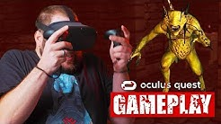 Oculus Quest Horror Gameplay | Dreadhalls | QUESTober