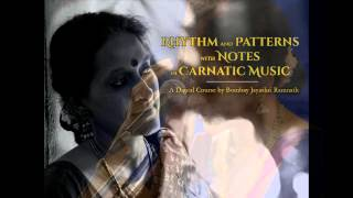 Rhythm and Patterns with Notes in Carnatic Music - Teaser 1