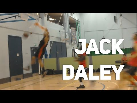 Jack Daley Dunks & Rips Off the Rim!! Cambridge Cats vs Dagenham Dragons!