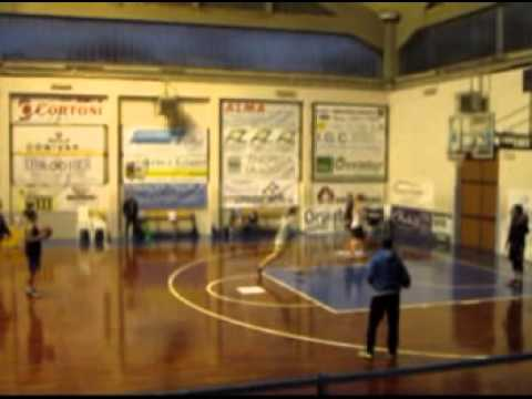 shooting drill 1 of Ceprini Orvieto - Women's Basketball Team  A1 - Italy