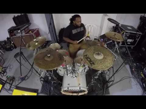 Bruno Mars -24k Magic Drum Cover HD (Marcus Thomas)