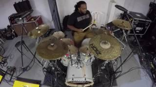 Bruno Mars -24k Magic drum cover HD (Marcus Thomas)