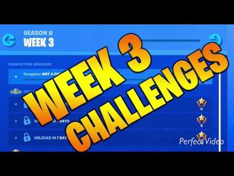 Season 8 Week 3 Cheat Sheet