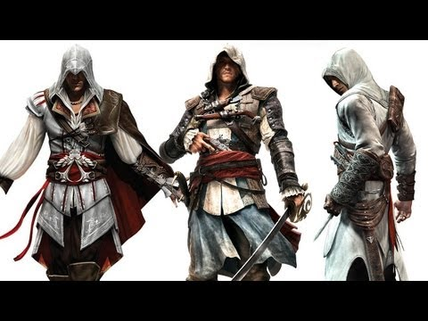 Assassin's Creed 4: Why Kenway Isn't Related to Ezio or Altair