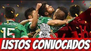 Lista de Osorio de México para el Mundial Rusia 2018
