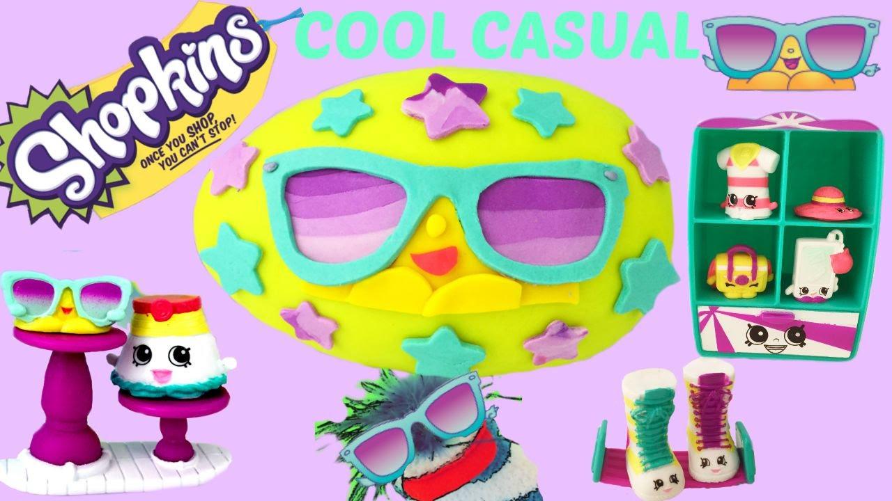 Download SHOPKINS Cool Casual Season 3 Play Set! 8 Exclusives!