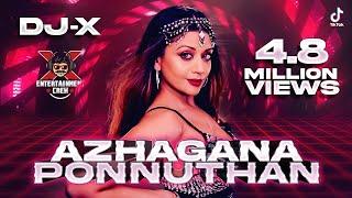 [DJ-X] Azhagana Ponnuthan Mix | Tamil Folk Hits • Exclusive New Year Mix (2021)