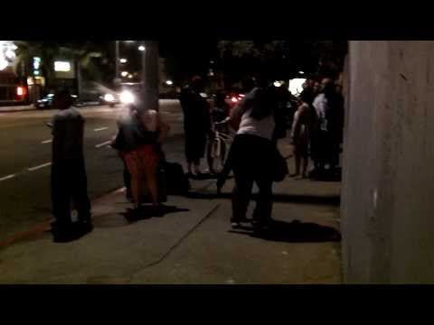 Gang Fight in Venice, CA 09/01/2013