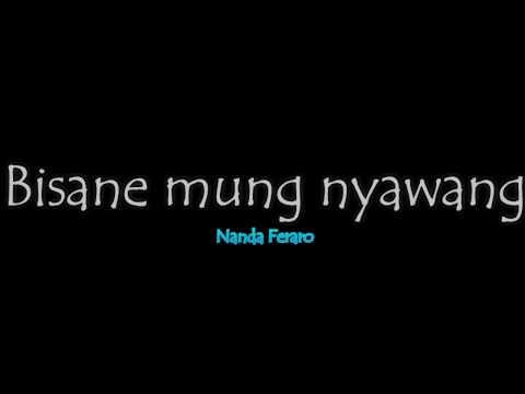 Karaoke Tanpa Vocal-(Bisane Mung Nyawang)-Nanda Feraro Banyuwangi