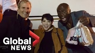 Carly Rae Jepsen reveals Seal#39s bread obsession