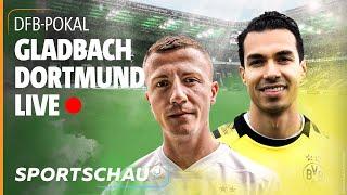 DFB-Pokal relive: Mönchengladbach gegen Dortmund mit FeelFifa und Strikers   Sportschau