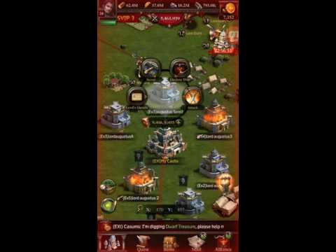 CLASH OF KINGS...HARD FARMING PAID OFF..CASTLE 28 STARTED.